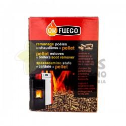 Deshollinador para estufas de Pellets 1,5KG OK Fuego