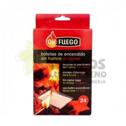Bolsitas de encendido 24 unidades OK Fuego
