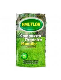Compost Orgánico Mantillo EMUFLOR 50L