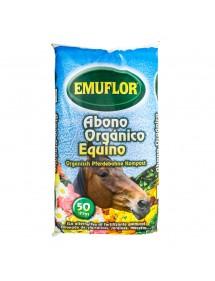 Abono Orgánico Equino EMUFLOR 50L