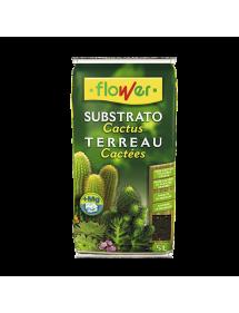 Sustrato Cactus y crasas FLOWER 5L