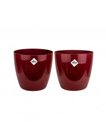 Maceta Bruselas Diamond Rojo Pasión ELHO Modelos grandes