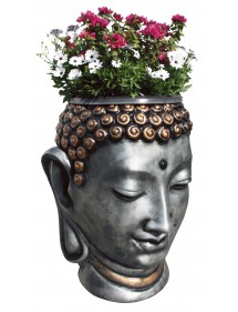 Macetero Cabeza de Buda Ching Policromado FRAMUSA