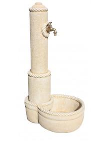 Fuente Obelisco 122cm Ocre FRAMUSA