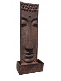 Fuente Mural Sutra Buda 185cm Óxido FRAMUSA