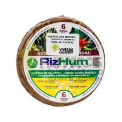 Sustrato Universal Fibra de Coco 6L RIZHUM