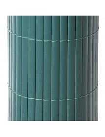 Cañizo PVC simple Verde 1,5x5 metros FAURA