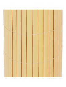 Cañizo PVC simple Natural 1,5x5 metros FAURA