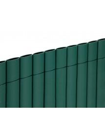 Cañizo PVC doble cara Verde 1x5 metros CENTROFLOR