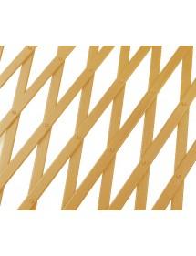 Celosía PVC extensible color natural 1x2 metros CENTROFLOR