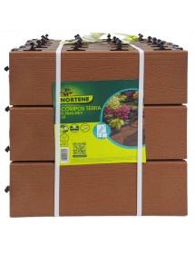 Losa Compos Terra 30x30cm madera 6 unidades NORTENE