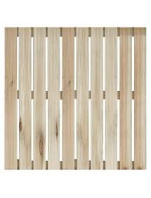 Baldosa de madera 100x100cm NORTENE
