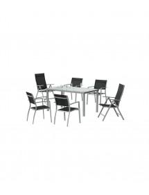 Conjunto Perseo (Mesa + 4 sillas)