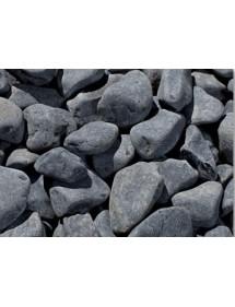 Canto Rodado Negro 20kg (40/60 mm)