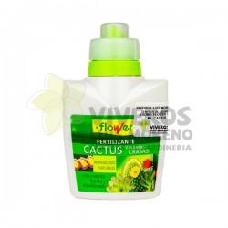 Fertilizante Líquido Cactus y Plantas Crasas Flower 300ML